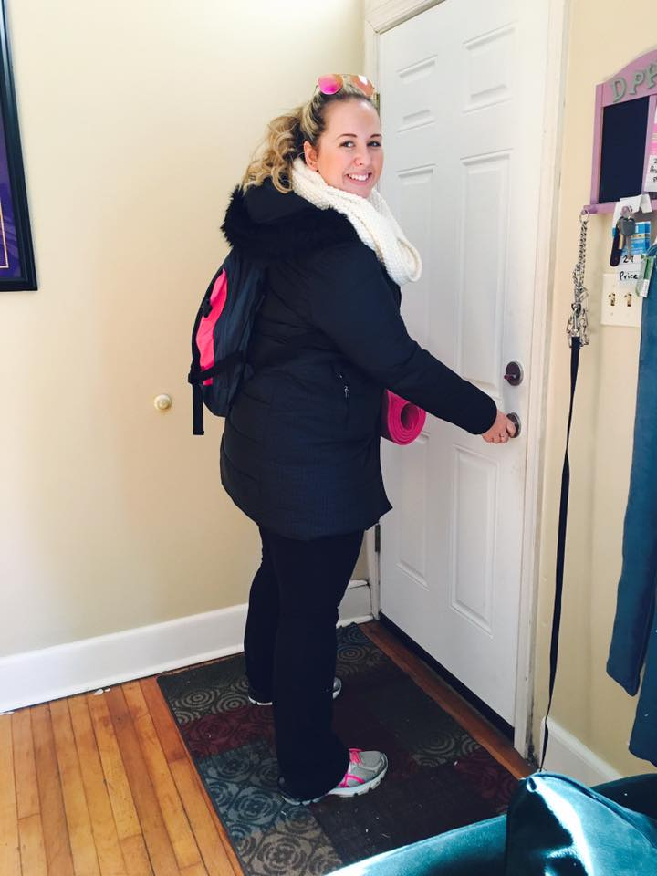 Lauren Grow First Day of School at West Chester University 2016